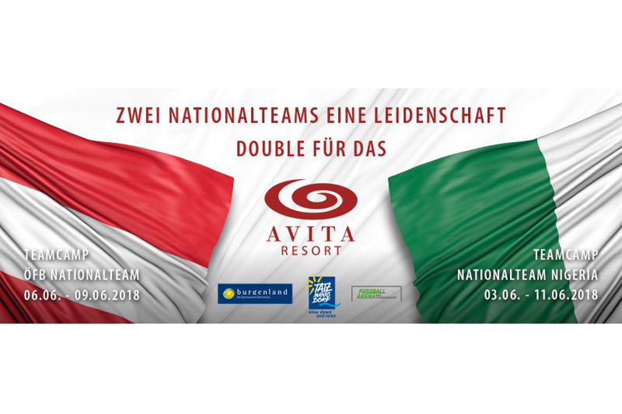 ÖFB-Nationalteam und Nationalteam Nigeria im AVITA Resort