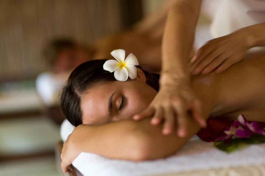 Relaxing massages and pleasurable moments in the spa of the AVITA Resort