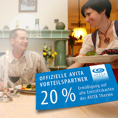 Picture of the AVITA discount card of the Hotel Kastell