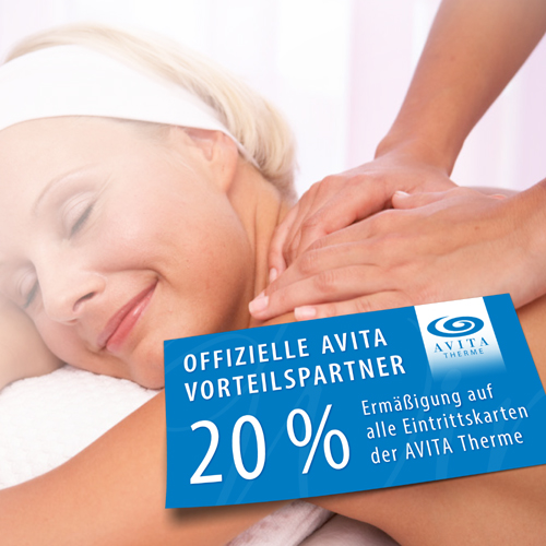 Picture of the AVITA advantage partner discount card of the Hotel Café Simon