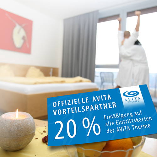 Picture of the AVITA advantage partner discount card of the Hotel Spiegel